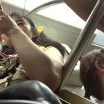 【盗撮動画】バレたら即逮捕!地下鉄で見かけた美人お姉さんを尾行してパンチラを撮りまくってるwww