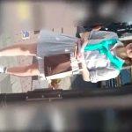 【盗撮動画】街頭でティッシュ配ってる美人お姉さんのパンチラを撮影しまくるとオカズが完成するwww