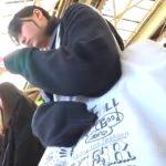 【盗撮動画】清純ウブそうな制服女子校生の純白パンティ!電車で逆さ撮りした危険映像がコレwww