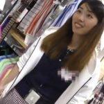 【盗撮動画】逆さHERO!テキパキと接客してくれる清楚美人なショップ店員さんのパンチラ逆さ撮り放題!