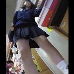 【盗撮動画】終いには捲ってんじゃん!!!可愛い制服女子校生のパンチラばかり撮影する危険人物!!