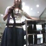 【盗撮動画】Mr.研修生!パーフェクトパンティ映像!美人ショップ店員さんのパンチラ撮り熟し映像!!