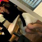 【盗撮動画】カフェで男性と一緒だった超絶美女をストーカーしてパンチラを隠し撮りに成功した!!