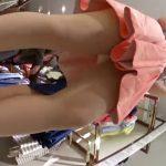 【盗撮動画】仕上がり絶妙な美脚モモ肉!清楚系美人のショップ店員さんの逆さ撮りパンチラwww