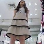 【盗撮動画】イイやつです!Mr.研修生!傑作危険アングル!美人店員の喰い込みパンチラ!!