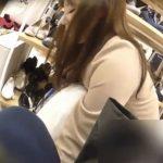【隠撮動画】逆さHERO!エロアングル連発!!!清楚系美人なショップ店員さんのパンチラ乱獲www
