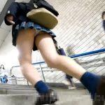 【HD盗撮動画】高画質カメラを入手した危険人物が駅構内で女子校生のパンチラを乱獲した!