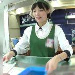 【盗撮動画】洋菓子販売コーナーの好感度抜群な美人ショップ店員のお嬢さんのパンチラ攻略!!