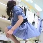 【HD盗撮動画】イイやつです!Mr.研修生!超美形ショップ店員の色白もも肉とパンチラ攻略www