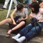 【HD盗撮動画】イイやつです!大学のキャンパスライフが無防備な美少女達のパンチラに溢れていたwww