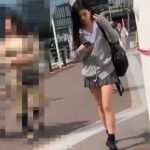 【HD盗撮動画】美形美少女のJKは背伸び中!まさかのセクシーTバック喰い込みパンチラが最高www