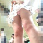 【盗撮動画】白ギャル美人のワンピースの中身から股間モッコリ清涼系パンチラを隠し撮りした映像報告www