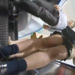 【盗撮動画】ギャル好き様にお勧め!制服女子校生に粘着してパンチラを尾行撮影した危険映像!!