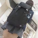 【HD盗撮動画】バレないように尾行するのも快感!!!制服女子校生をストーカーしながらパンチラ隠し撮り!!