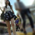 【HD盗撮動画】イイやつです!超SSSSS級の素人美脚美女のデート中にパンチラを無断撮影し続ける!!