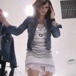 【盗撮動画】安心と信頼のパンチラ撮り師Mr.研修生!超SSSSS級の美人ショップ店員のもっこりパンティwww
