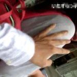 【HD盗撮動画】ガチ犯罪映像!路上痴漢魔いたずらっ子し隊!急に胸揉みされた素人ギャル逃走!!