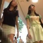 【盗撮動画】清純系美少女のパンチラを追跡撮りするとムチ尻食い込みパンティだった件www