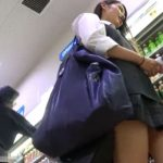 【HD盗撮動画】マジで可愛いヤツ!放課後の制服美少女に粘着してパンチラ撮りまくる危険行為!