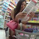 【HD盗撮動画】イイやつです!清楚系美人とセクシー美女の素人ギャル二人組のパンチラ収録!!