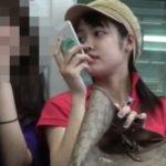 【HD盗撮動画】激カワ童顔ハーフ美少女のパンチラ無断撮影したので限定公開するwww
