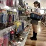 【盗撮動画】ポニーテール美少女のJC中◯生の下半身からパンチラを無断撮影して公開!
