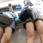 【HD盗撮動画】仲良し美少女二人組の隠し撮りパンチラ映像って格別ですよねwww