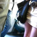 【盗撮動画】街撮りパンティ映像が熱い!!!モデル級の美脚美女のパンチラを隠し撮り!!