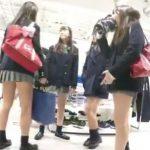 【盗撮動画】放課後のJKエンジェルを付き纏って新鮮なパンチラを隠し撮り成功www