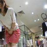 【盗撮動画】最高レベルのスレンダー美人なショップ店員のパンチラを攻略して無断公開!!