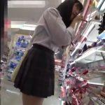 【盗撮動画】ツルツル美尻に食い込みTバック!激カワ美少女JKに粘着してパンチラ隠し撮り!