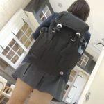 【HD盗撮動画】ショートヘア制服女子校生のピカピカ美肌!極上下半身からパンチラ攻略!