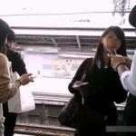 【盗撮動画】童顔美少女のJC中◯生を逆さ撮りしたパンチラ危険映像がネット上に拡散!!