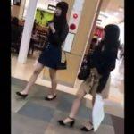 【盗撮動画】激カワ清純系美少女のムチ尻サイコー!!!買い物中に無断撮影されたパンチラ映像!