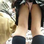【盗撮動画】清純系美少女のJC中◯生を高画質カメラで逆さ撮りしてパンチラを隠し撮り!!