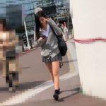 【HD盗撮動画】すでに完成された美脚を保持するJK美少女のパンチラを追跡して乱獲撮り!!