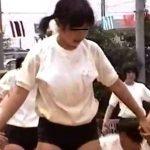 【盗撮動画】リアル記録映像!JS小○生のロリっ子たちがブルマ体操着で大運動会!!