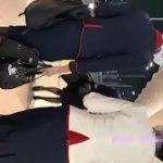 【HD盗撮動画】空港内隠し撮り!美人CAたちを尾行しながらパンチラを捕獲した危険映像!