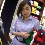 【盗撮動画】逆さHERO!清楚なショートヘア色白美人なショップ店員さんのパンチラ覗き撮り!