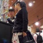【盗撮動画】可愛い素人ギャルをターゲットにパンチラを隠し撮り放題のヤバイ映像!!