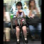 【盗撮動画】イイやつです!清純ピュアなJC美少女の色白尻肉に食い込みパンチラ!!