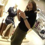 【盗撮動画】イイやつです!逆さHERO!可愛いセミロング美人ショップ店員のパンチラ!