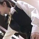 【盗撮動画】Mr.研修生!完全清楚仕様の美人ショップ店員さんのパンチラ激写!!