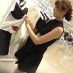 【盗撮動画】逆さHERO!上品で美人なショップ店員のお姉さんから攻略したパンチラ!