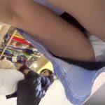 【盗撮動画】街中発見した超SSS級美女に無許可で粘着してパンチラ隠し撮り放題!!