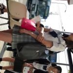 【HD盗撮動画】清純美少女につき食い込み中!!!制服女子校生からパンチラ隠し撮り!!
